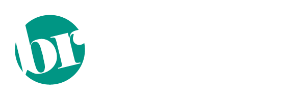 barbie ray designs logo white text