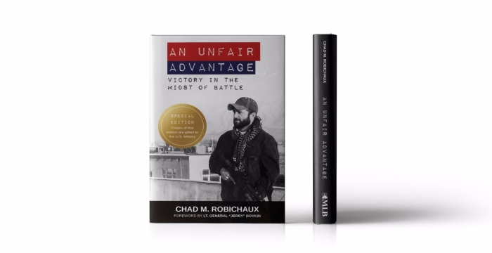 Book Cover Design for An Unfair Advantage by Chad Robichaux