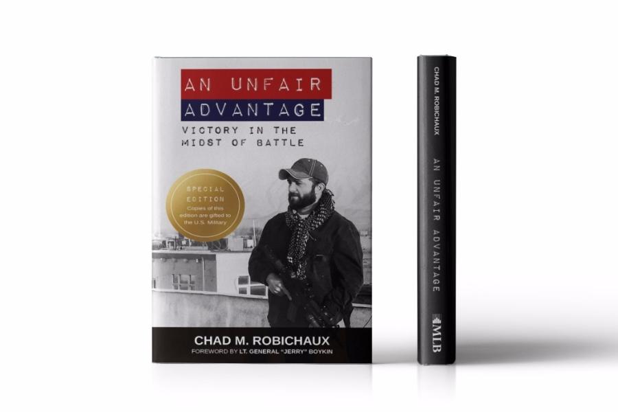 Book Cover Design for An Unfair Advantage by Chad Robichaux
